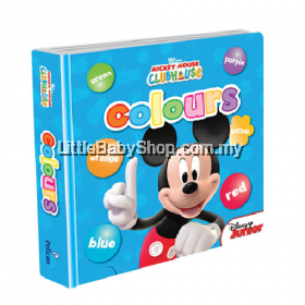 Disney Junior Padded Board Book: Colours