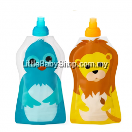 Squooshi Single Small Food Pouch - Bird /Lion