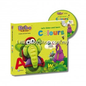Dibo the Gift Dragon Let's Listen and Learn: Colours