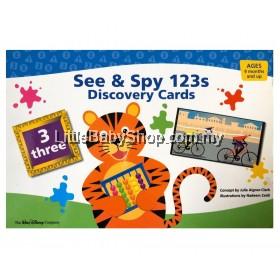 DISNEY Baby Einstein See & Spy 123s Discovery Cards